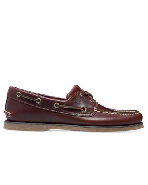 Timberland 2-Eye Boat Shoe (rootbeer)