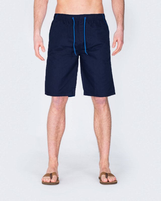 2t Tall Swim Shorts (navy/sky)