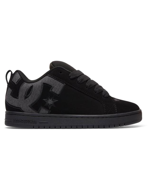 DC Shoe Court Graffik SE (black destroy wash)