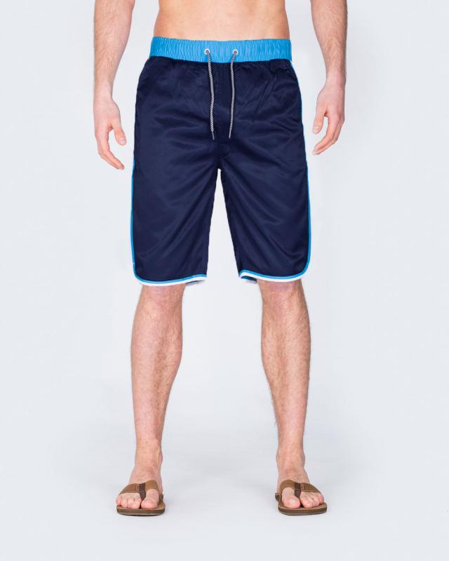 2t Tall Striped Swim Shorts (navy)
