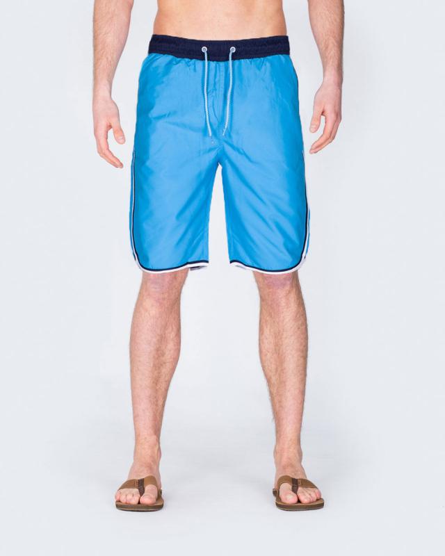 2t Tall Striped Swim Shorts (blue)