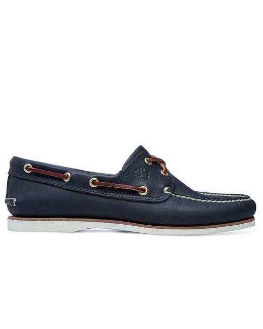 Timberland 2-Eye Boat Shoe (navy)