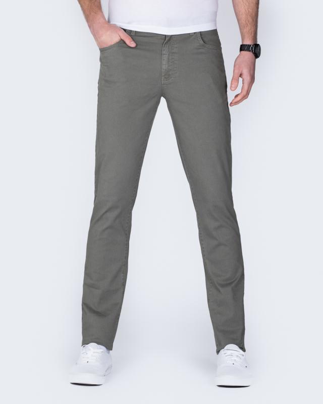 Redpoint Milton Slim Fit Tall Jeans (khaki)