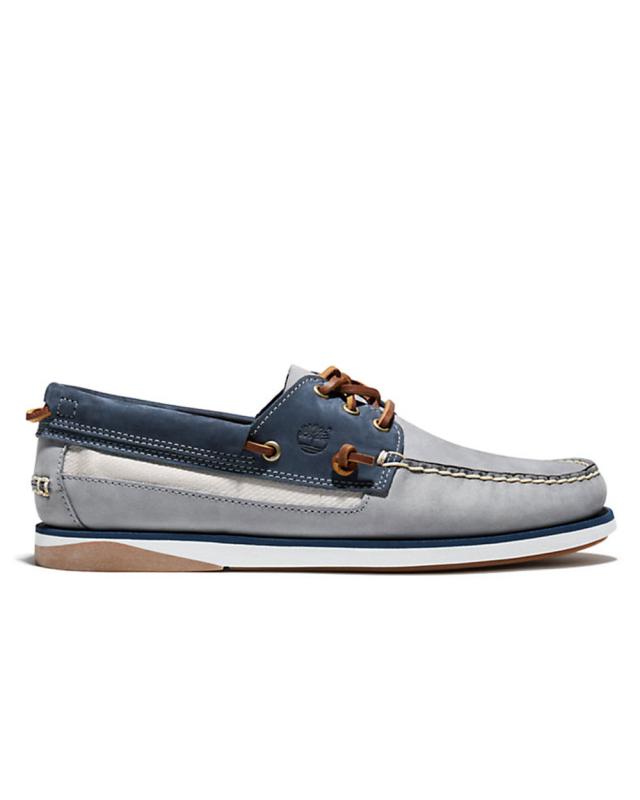 Timberland Atlantis Break Boat Shoe (grey/navy)