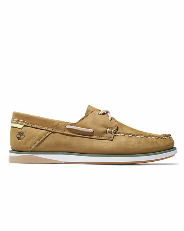 Timberland Atlantis Break Boat Shoe (olive)