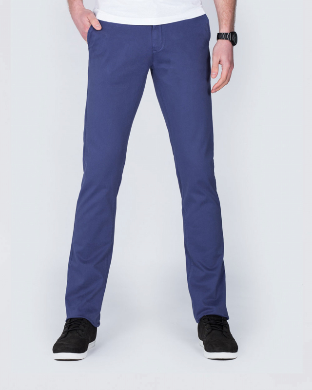 Ed Baxter Slim Fit Tall Chinos (ensign)