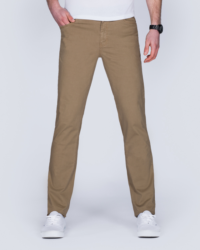 Redpoint Milton Slim Fit Tall Jeans (camel)