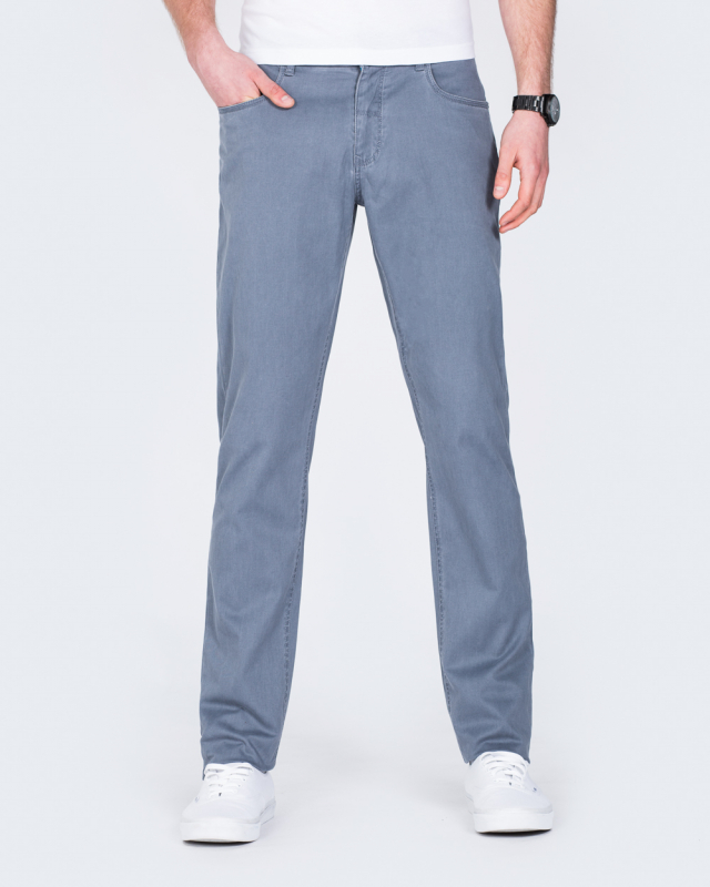 Redpoint Barrie Slim Fit Tall Jeans (slate blue)