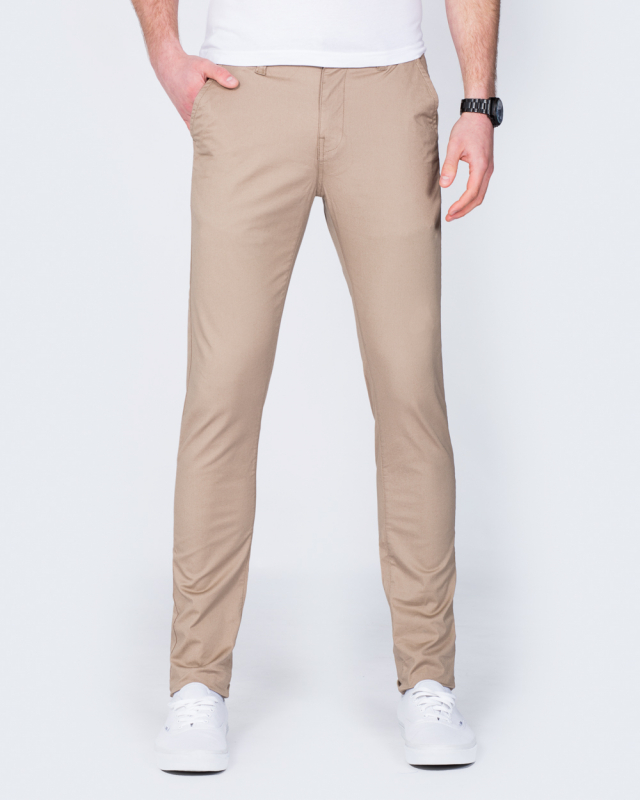 2t Skinny Fit Chinos (sand)