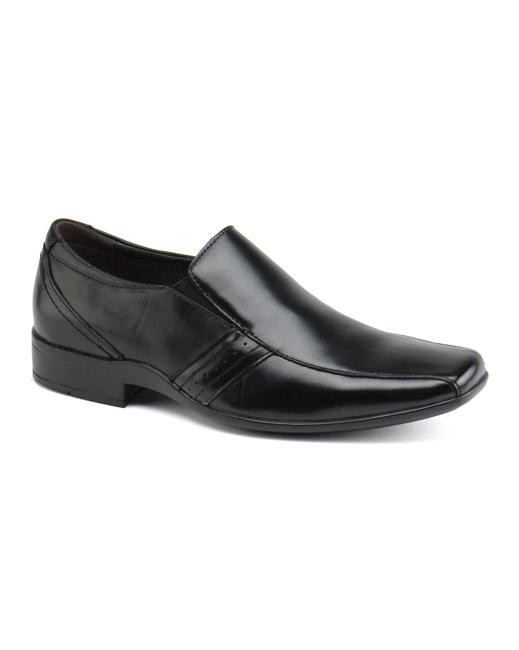 Front Craddock Slip-On Shoe (black)