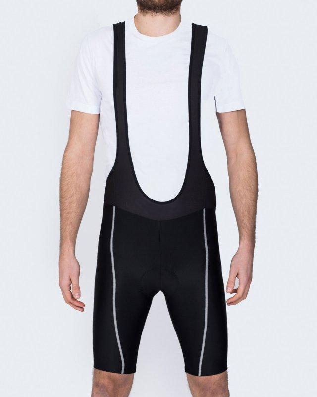 North 56 Tall Mens Cycling Bib Shorts (black)