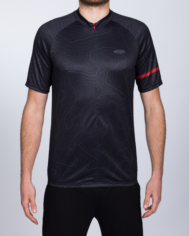 North 56 Tall Cycling Top (black/red)