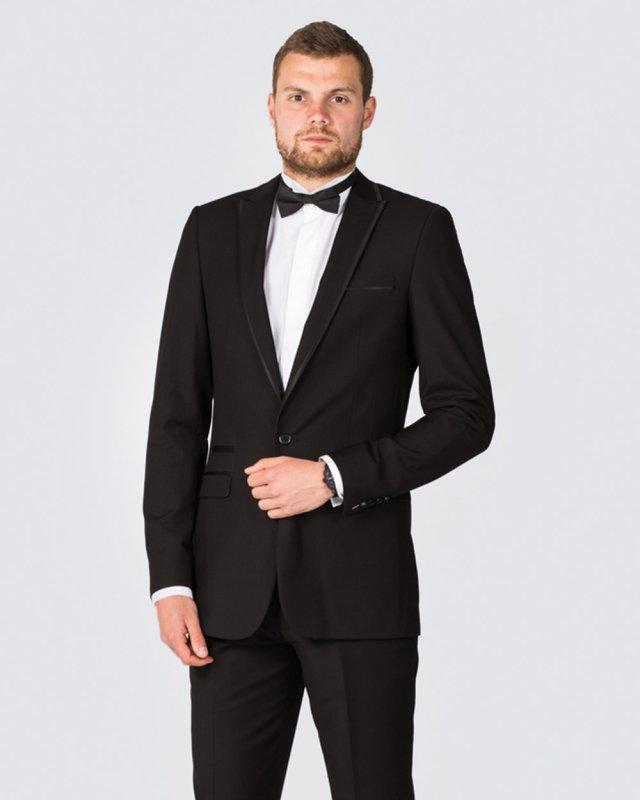 Skopes Slim Fit Tall Dinner Suit (black)