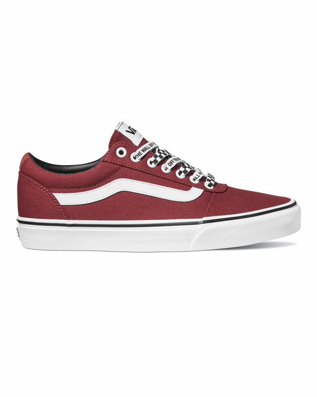 Vans Ward Checker Lace (rosewood/white)