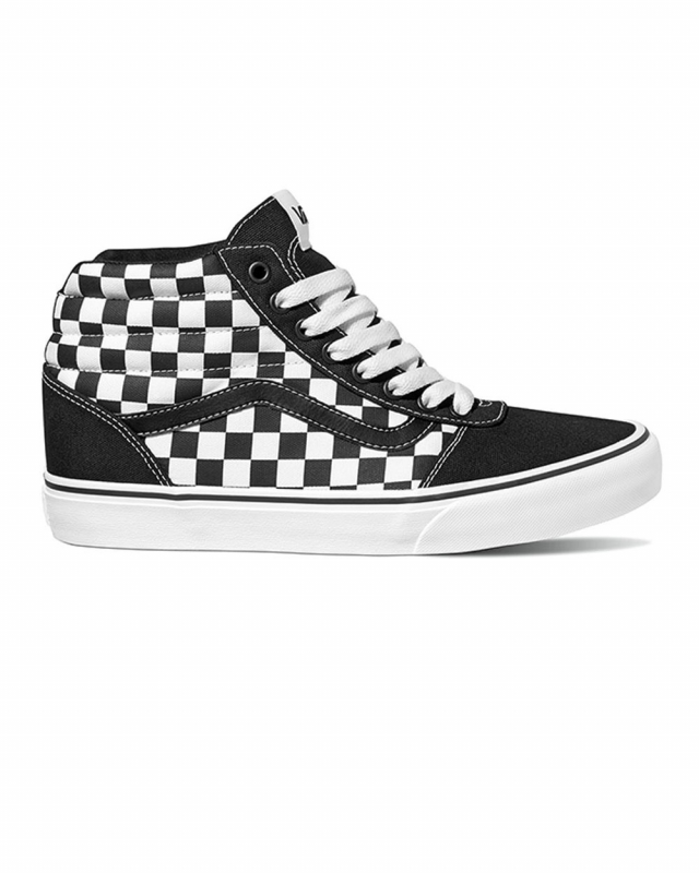 Vans Ward Hi (checkerboard black/white)
