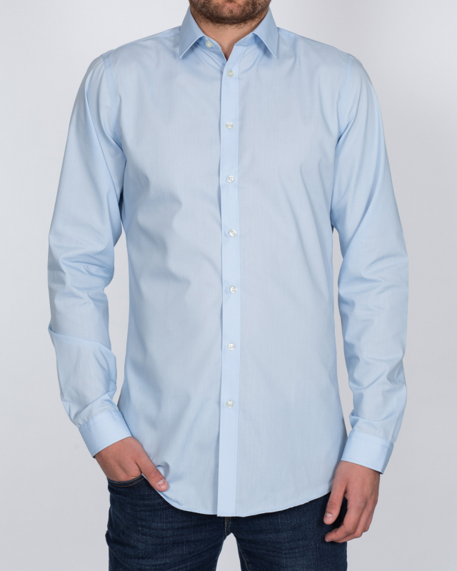 Double Two Slim Fit Tall Shirt (blue)