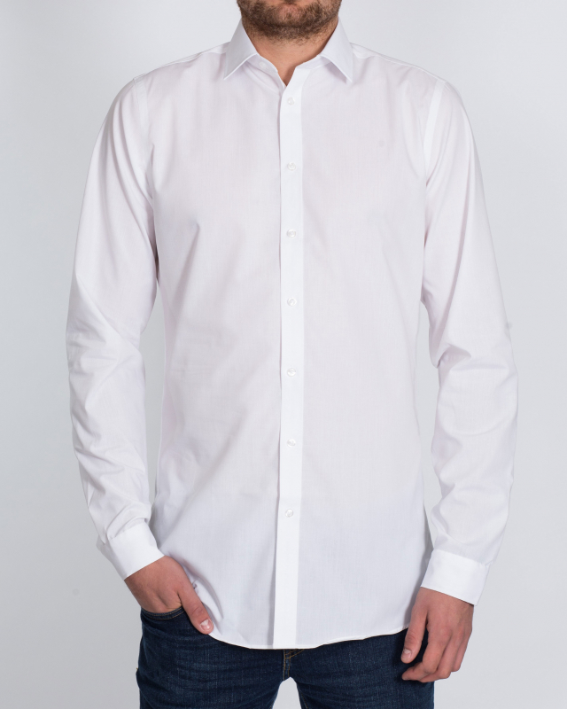 Double Two Slim Fit Tall Shirt (white)