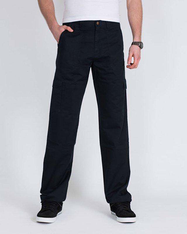 Ed Baxter Heavy Duty Tall Combat Trousers (navy)