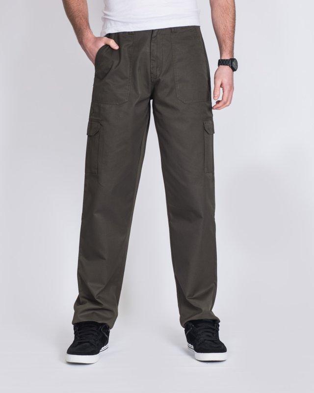 Ed Baxter Heavy Duty Tall Combat Trousers (khaki)