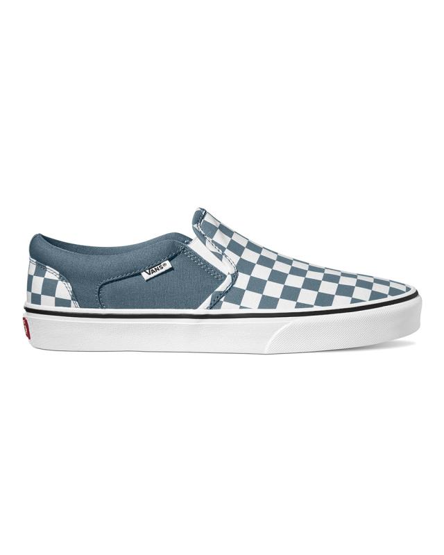 Vans Asher Checkerboard (blue mirage/white)