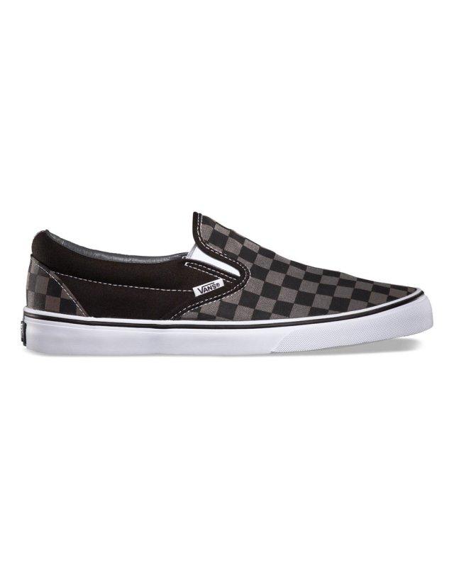 Vans Classic Slip On (black/pewter check)