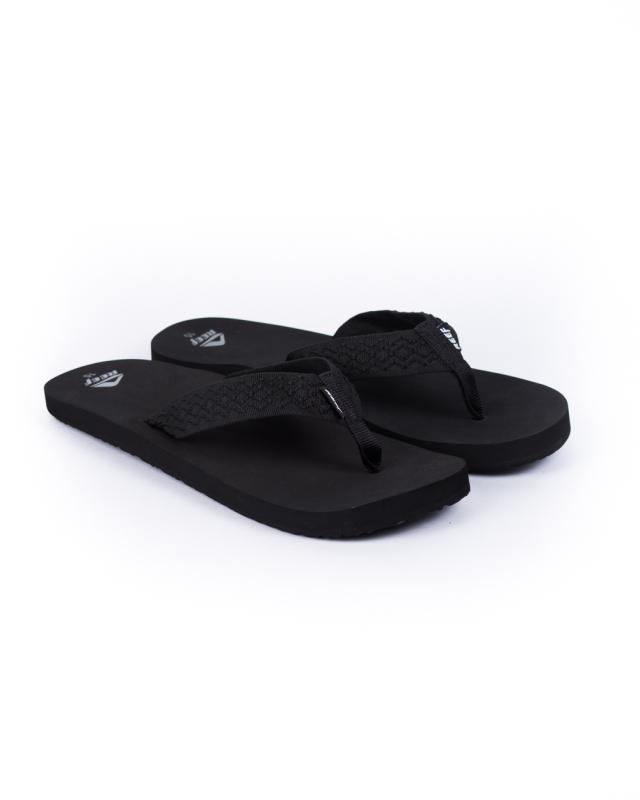 Reef Smoothy Flip Flops (black)