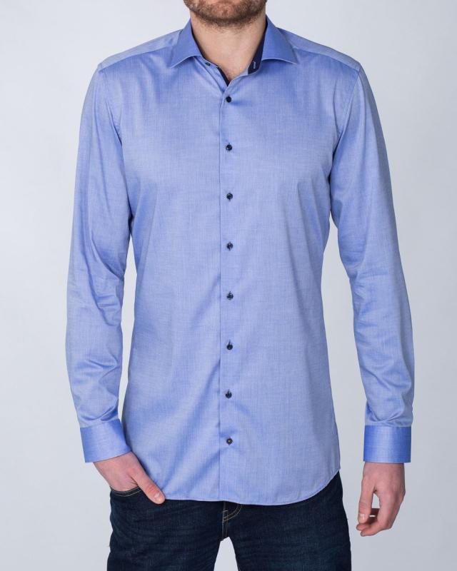 Eterna Slim Fit Tall Shirt (denim blue)