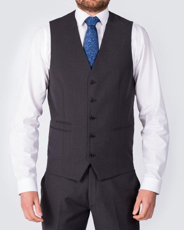Skopes Slim Fit Tall Waistcoat (charcoal)