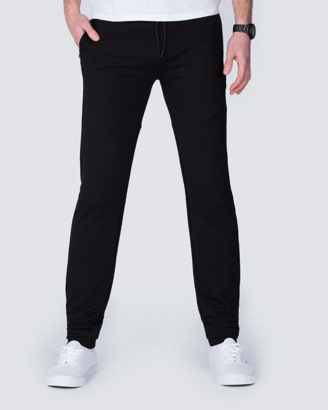 2t Declan Slim Fit Tall Training Joggers (black)