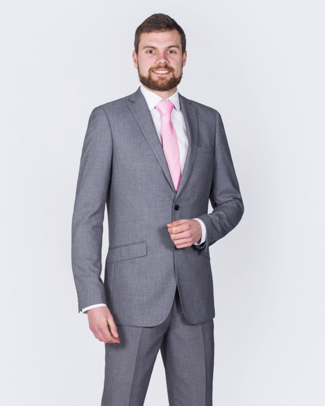 Skopes Harcourt Skinny Fit Tall Suit (silver)