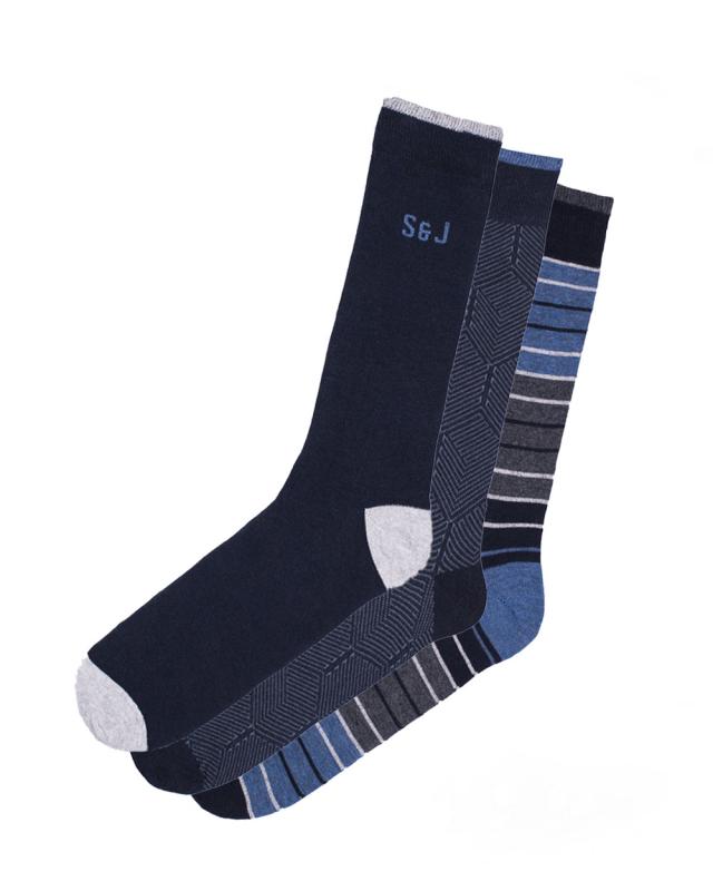 SJ Hessa Socks 3 Pairs