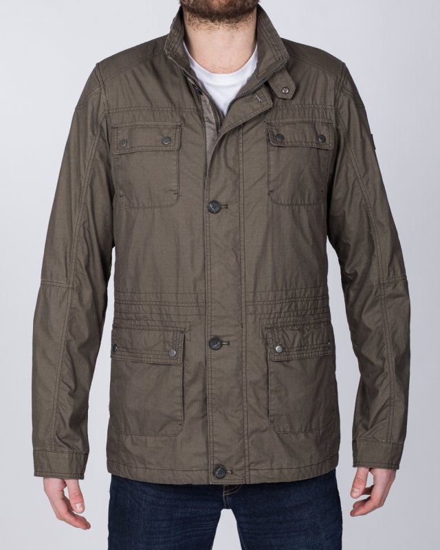 Cabano Tall Cotton Jacket (khaki)