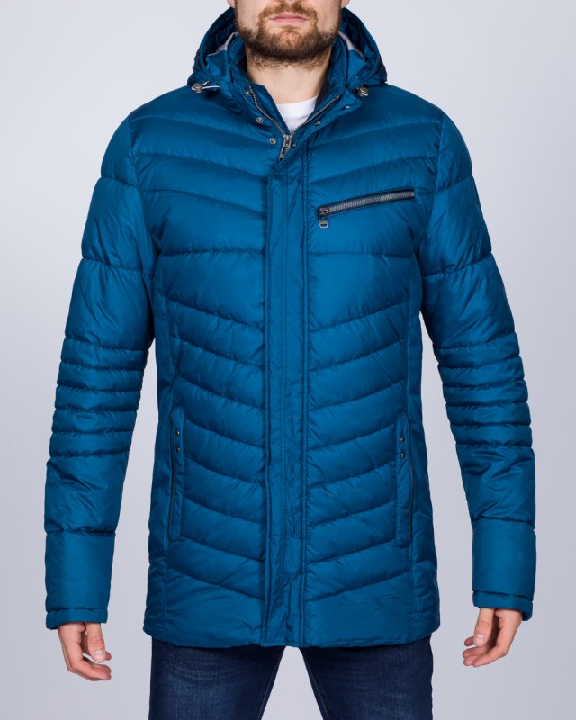 Cabano Tall Lightweight Chevron Jacket (royal blue)