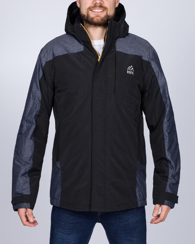 North 56 Tall Ski Jacket (black/grey)