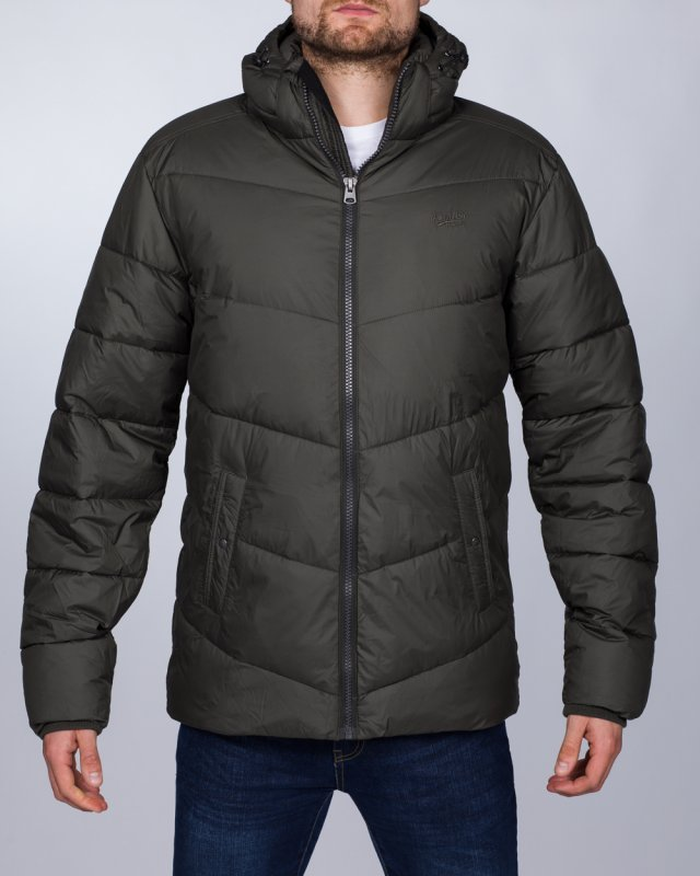 Replika Tall Quilted Jacket (olive green)