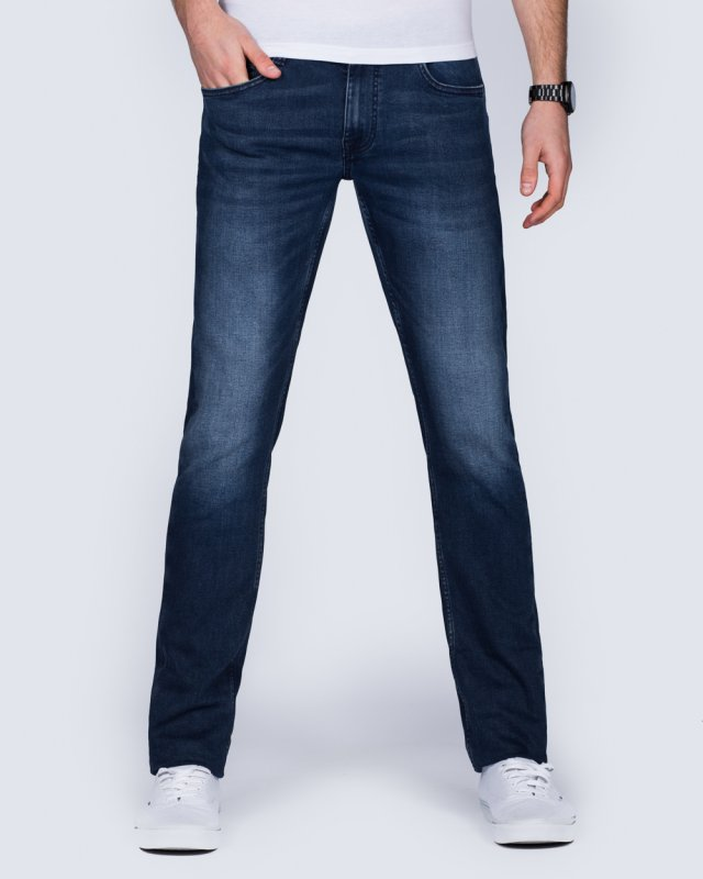 Mustang Oregon Tapered Slim Fit Tall Jeans (denim)