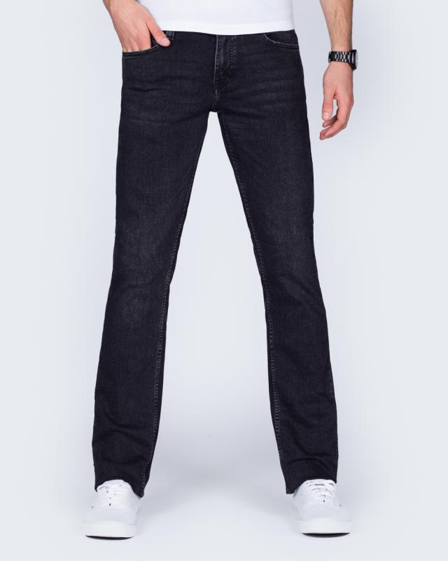 Mustang Oregon Straight Slim Fit Tall Jeans (dark grey)