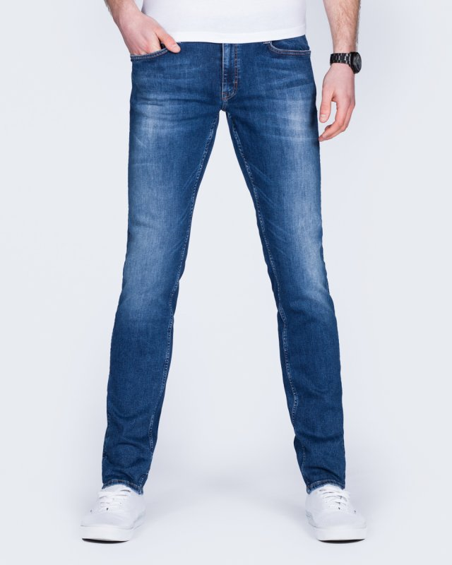 Mustang Oregon Tapered Slim Fit Tall Jeans (denim wash)