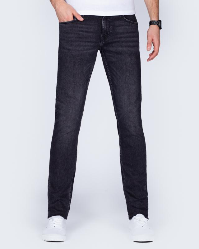 Mustang Oregon Tapered Slim Fit Tall Jeans (dark grey)