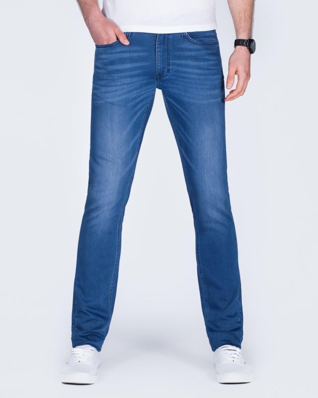 Mustang Oregon Tapered Slim Fit Tall Jeans (blue denim)
