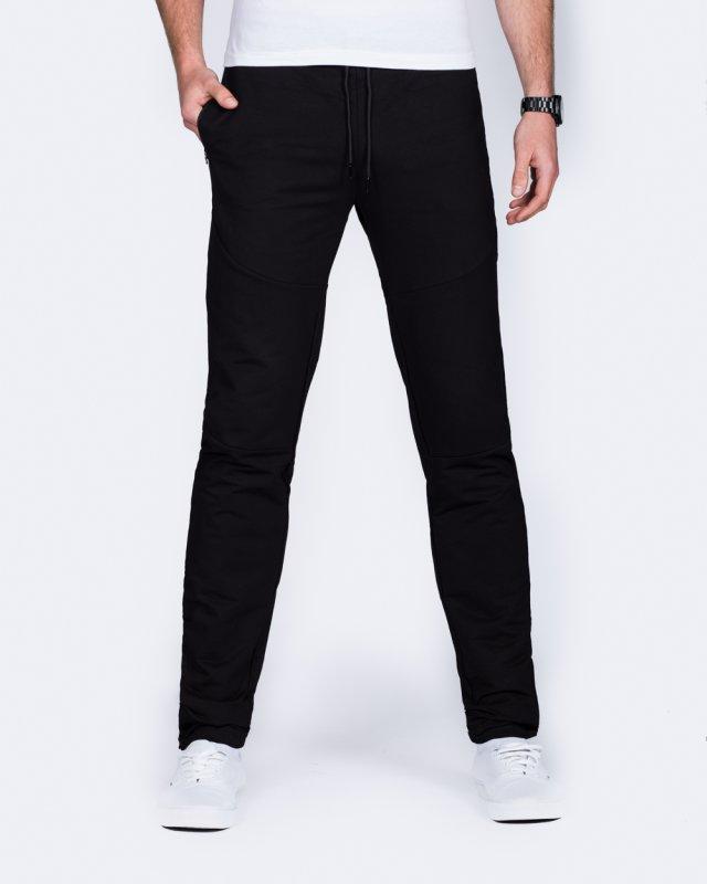 2t Slim Fit Zip Hem Training Joggers (black)
