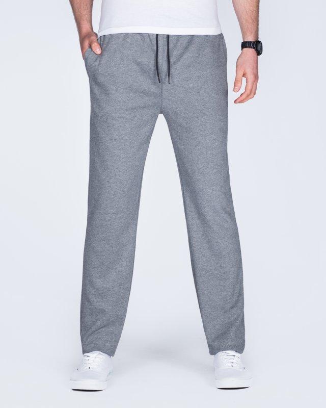 2t Shaun Regular Fit Tall Joggers (charcoal)