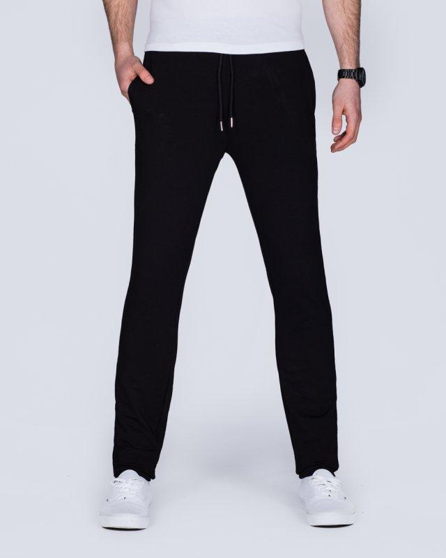 2t Scott Slim Fit Tall Sweat Pants (black)