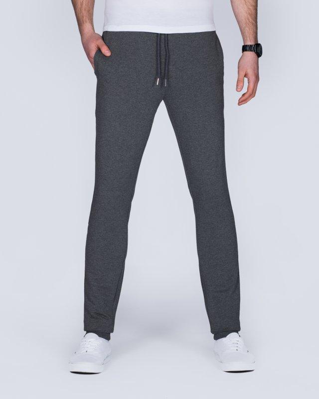 2t Scott Slim Fit Tall Sweat Pants (charcoal)