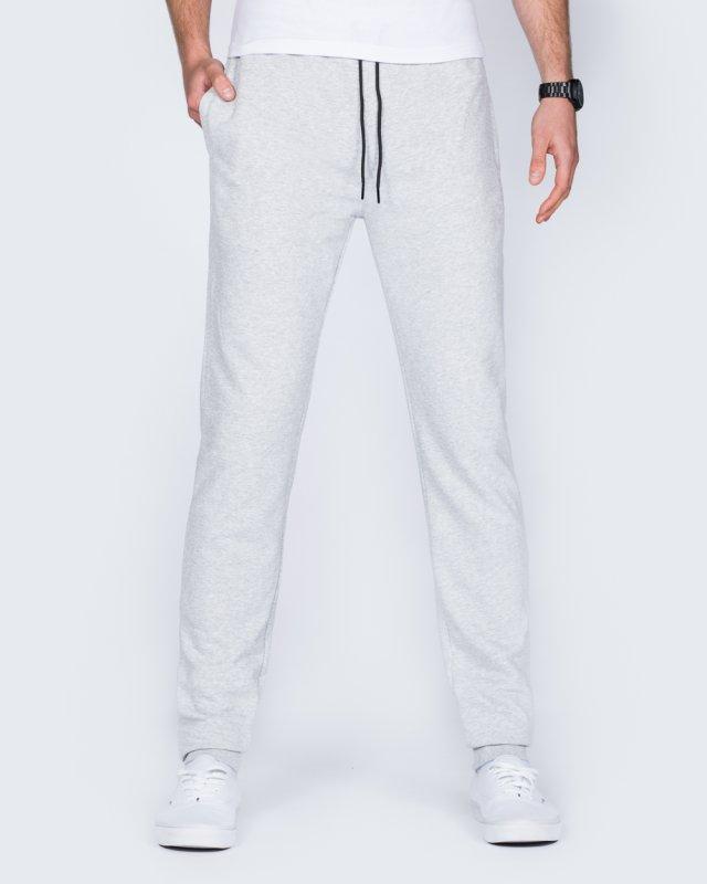 2t Riley Slim Fit Tall Joggers (heather grey)