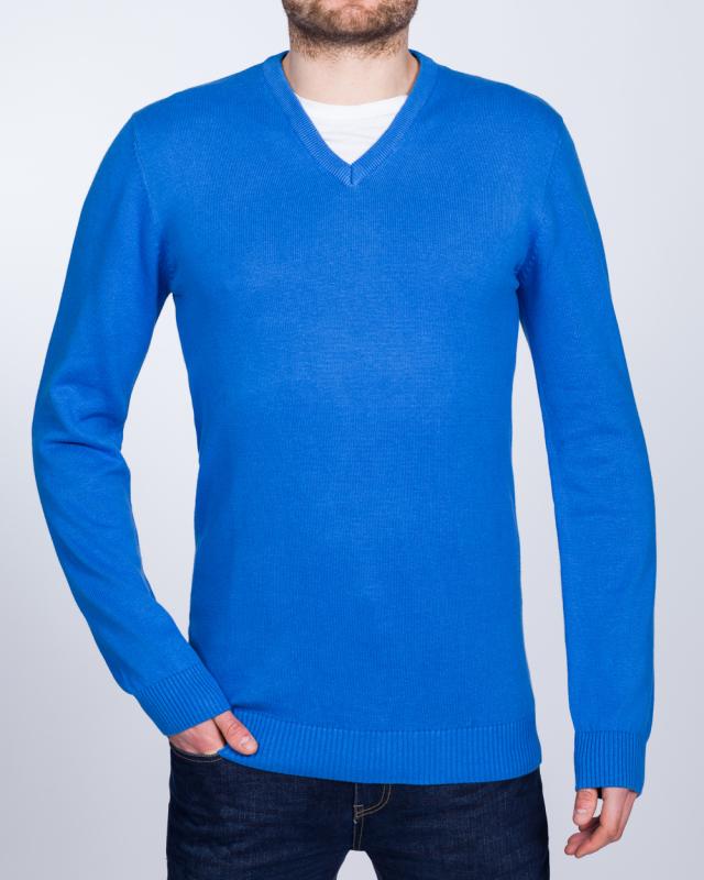 2t Summer V-Neck Tall Jumper (blue)