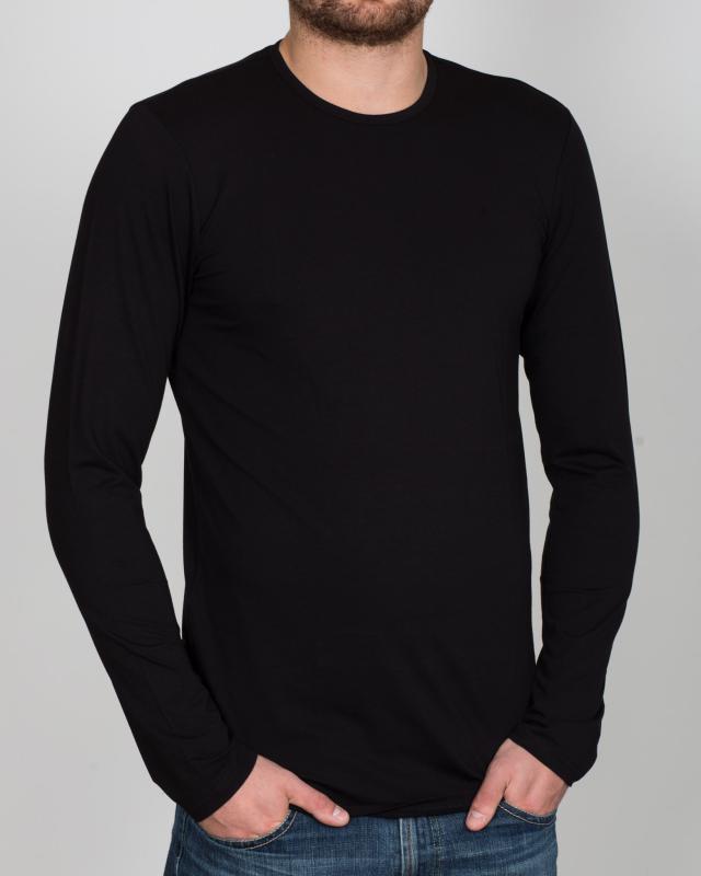 Girav London Long Sleeve Extra Tall T-Shirt (black)