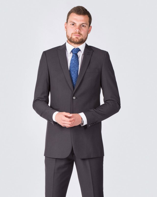 Skopes Slim Fit Tall Suit (charcoal)