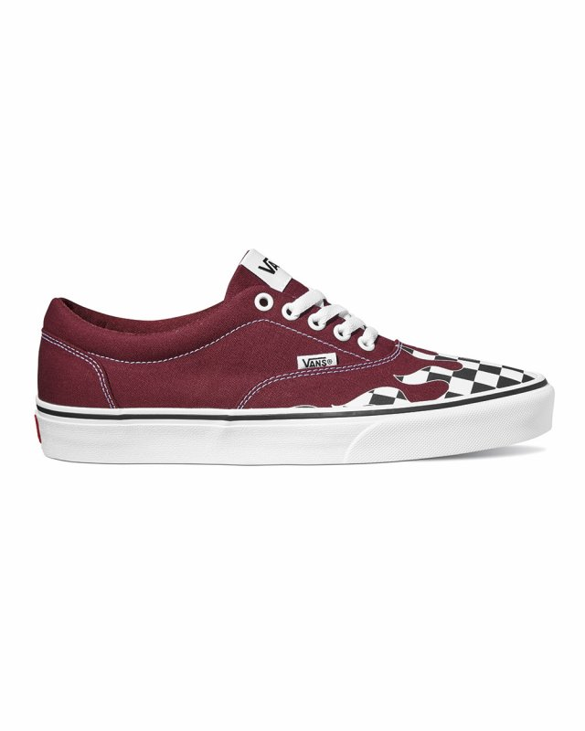 Vans Doheny Flame Check (port royale/white)