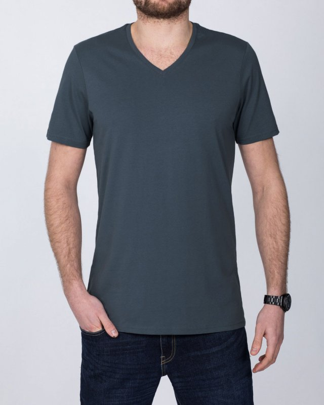 Girav New York Extra Tall V-Neck (dark grey)